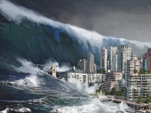 Mơ thấy sóng thần có điềm báo gì? đánh con số nào?