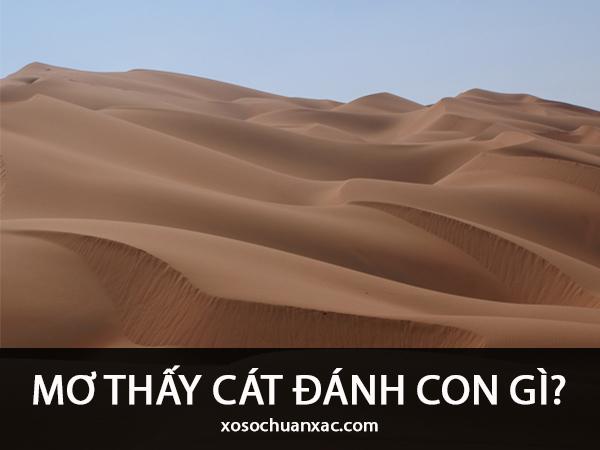 Mơ thấy cát điềm gì?
