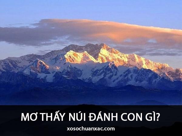 Mơ thấy núi điềm báo lành hay dữ?