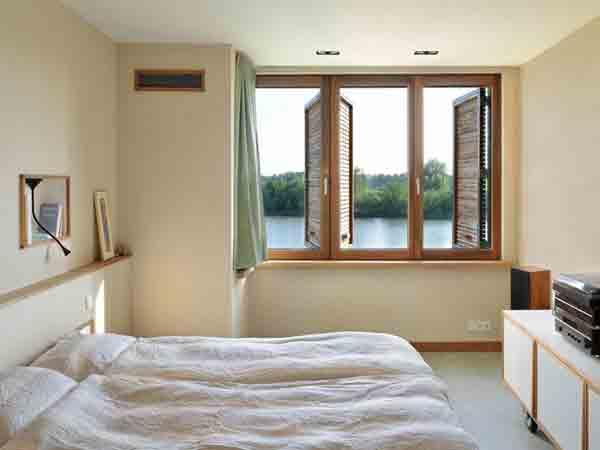 Phong thủy cửa sổ phòng ngủ nên có mấy cửa thì hợp lý?